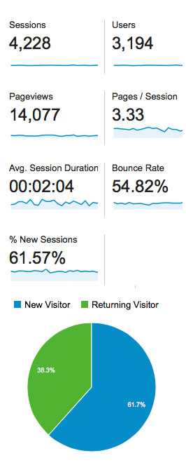 Visitor Bounce Rate